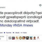 NSA, Twitter, recruitment ad