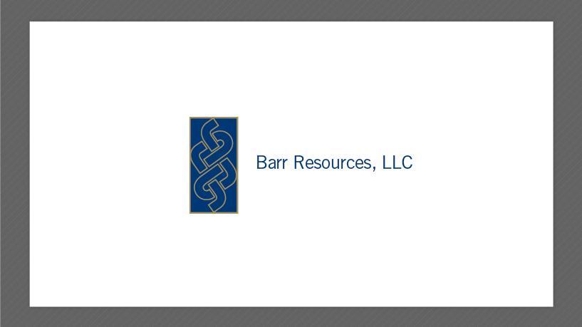 Barr resources LLC,