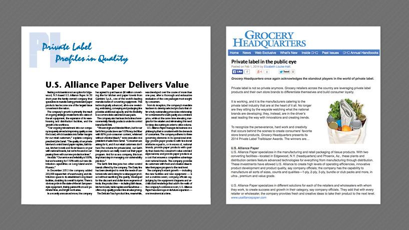 U.S. Alliance Paper,